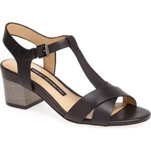 French Connection Lara Leather Sandals